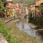 Rio Maggiore, a sinistra Via Matteotti
